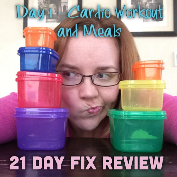 21 Day Fix Day 1 Review