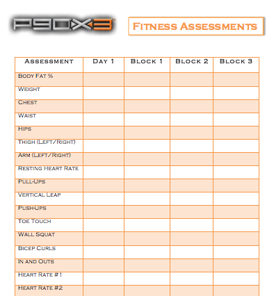 P90X3 Results, Meal Ideas, and Workout Tracker - Tara S Porter